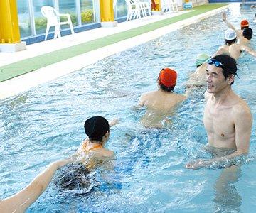 大人のための水泳教室